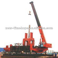 Precast Concrete bore pile machine