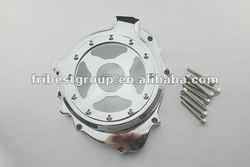 Glass Chrome Stator Engine Cover For Honda CBR600RR CBR 600 RR 2003 2004 2005 2006