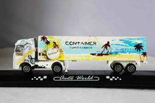 1:87 diecast metal truck model truck;diecast metal toy truck