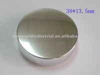 anodized aluminum thread/screw cap for lotion/beverage/wine bottle