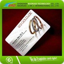 2012 Jewelry Guarntee PVC Card