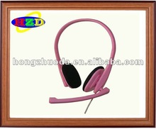 2012 new colorful headphone with microphone best sell headsets