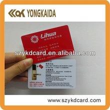 ISO standard 4C+4C Printing SLE5528 Proximity Rfid Contact Card