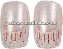french artificial nail . 3d nail art . stamping nail art
