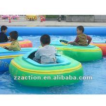2013 most popular children water electric bumper boat
