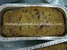 aluminum foil take away food tray