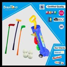 Super jouet en plastique enfants pas cher golf panier à vendre