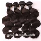 6A Filipino Virgin Hair Body Wave Wavy Natural Black Hair Extension Human Hair Weave Bundles