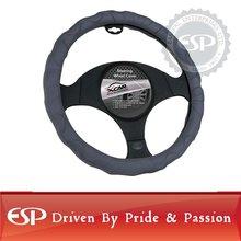 #19593 38cm diameter Genuine Leather Cool Steering wheel cover