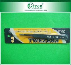 ELM M-13B high quality stainless steel tweezers