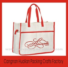 Durable nonwoven purpose imprint promotional eco gift shopping bag(HL-90031)