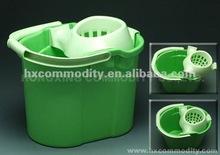 High quality plastic mop wringer bucket