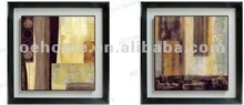 Framed hand painted oil painting,abstract canvas arts