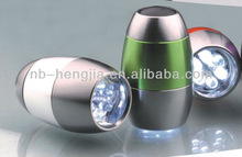 egg flashlight 6 pcs led