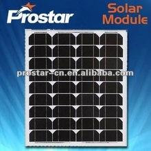 high quality 125x125 monocrystalline solar cell