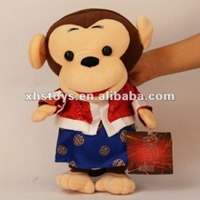 monkey toy& plush toy monkey & plush blue monkey toy