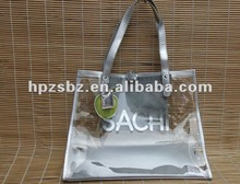Customized high quality clear pvc bag 2012 new bag design