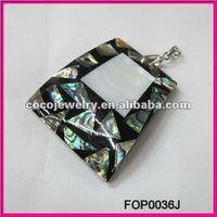 2013 NEW wholesale cheap jewelry Abalone Shell