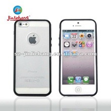 Matte surface TPU+PC protective Case with back hole for iphone 5