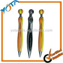 Promotional logo plastic ballpoint pen