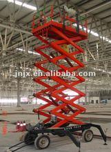 8m Mobile electric hydraulic scissor lift jacks