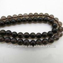 2012 Excellent Quality 100% Natural smoky quartz beads