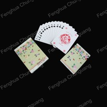 Promotional high quality custom design paper playing cards