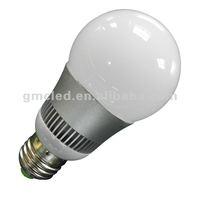 Good heat dissipation Aluminum Alloy 5W E27 LED global light bulb