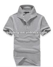 cheap dry fit 100% cotton pique polo collar plain t-shirt