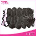 Beleza designer original atacado natural preto cabelo brasileiro/produtos de cabelo onda do corpo