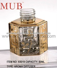 50 ML Small Attar Bottle with flower engrave on it