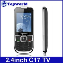 2012 New Arrival C17 Mobile Phone TV function with 2.4 inch Screen Dual sim card