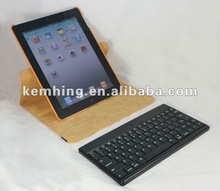 Bluetooth keyboard Rotating Leather Case for iPad3 for 9.7inch tablet iPad wireless bluetooth keyboard leather case