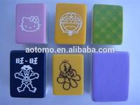 Crystal Mahjong Tiles with magnetic