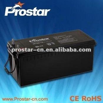 high quality 12v-200ah solar battery