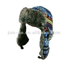 womens winter fashion hats faux fur bomber hats/faux fur ears hat
