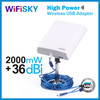 WF-N810 outdoor adapter 802.11b/g /n usb wireless adapter metal stand wifi device for desktop