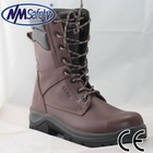 NMSAFETY Full Grain leather upper with PU/PU injection safety shoes