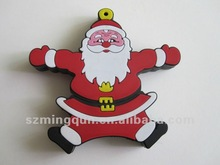 Father Christmas shape usb stick for promotion