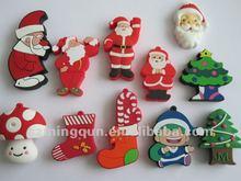 Custom logo and shape christmas usb for gift