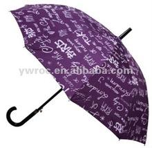 2012 10K auto open straight umbrella