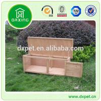Rabbit House with Plastic Playpen DXR008