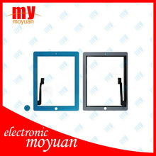 Touch Digitizer Plastic Middle Frame Bezel Screen Fit For iPad 3 Blue