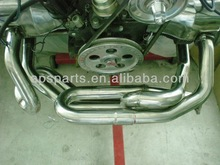VW exhaust system muffler& head