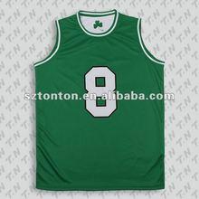 100% polyester plain basketball uniforms