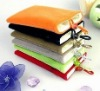 flannelette fabric phone bag, phone case, phone protection bag