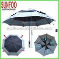 a prueba de agua de golf paraguas resistente al viento