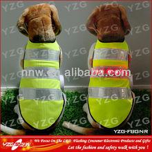 led dog safety vest for pets with led flashing light