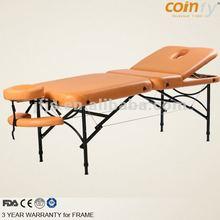 COMFY CFAL05 aluminium portable adjustable massage table