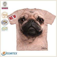 Animal 3D T-shirt Cotton T shirt Manufacturer